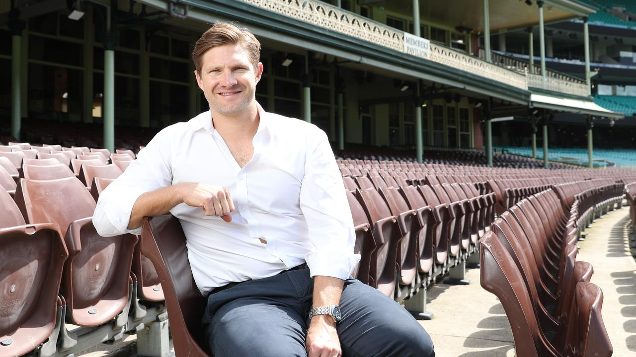 Shane Watson is the new voice and face of the Australian Cricketers Association. Picture: Dylan Robinson