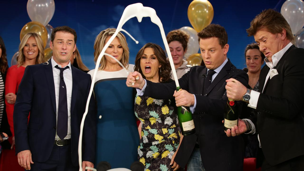 Georgie Gardner's last day on Today in 2014.
