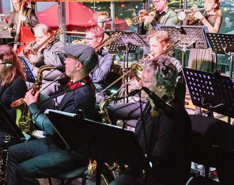 Jindalee Jazz Orchestra will perform a concert for the Sunshine Coast Jazz Club. Picture: Contributed