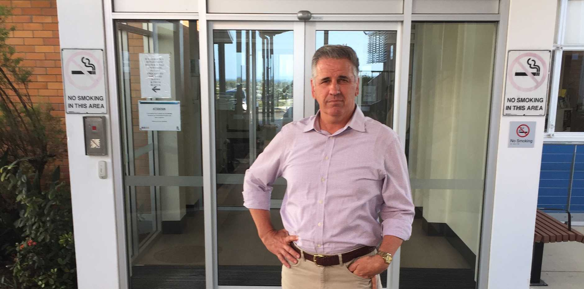 WAITING: Burdekin MP Dale Last has slammed the Queensland Health Minister over what he calls 'the stalling' of a CT scanner in Bowen,'