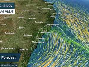 BOM - WIND FORECAST ANIMATION