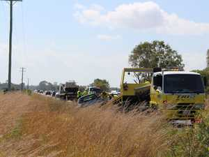 Pialba Burrum Heads Rd crash