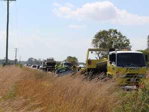 Pialba Burrum Heads Rd crash