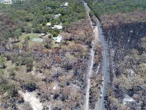 Cooroibah bushfire aftermath