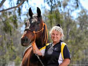 Champion for retired race horses working for a bright future