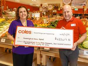 Shoppers help raise thousands for hospice