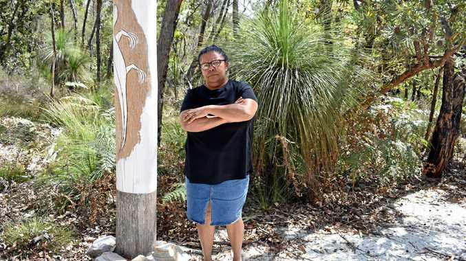 Aboriginal graves threatened by 175-lot river development