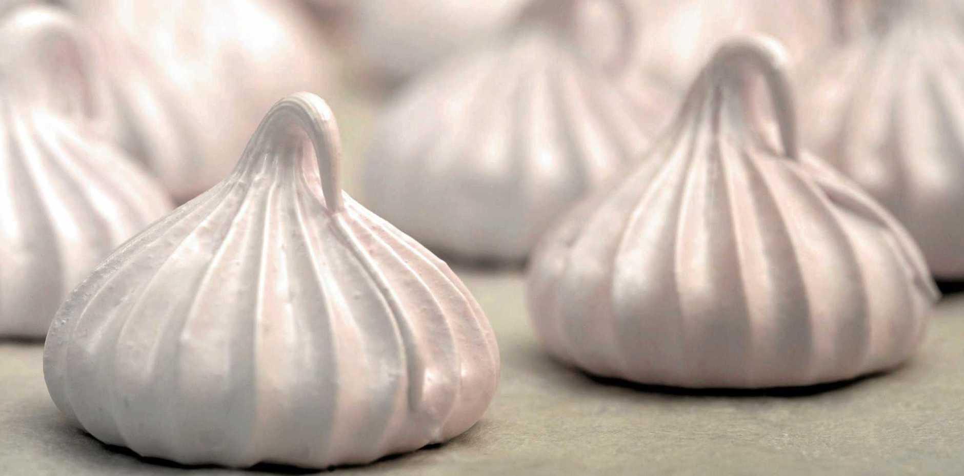 Maggie Cooper's almond meringues.