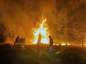 Photos of fires around Baryulgil