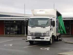 'Stupid' Tasmanian truck driver takes two disabled spots
