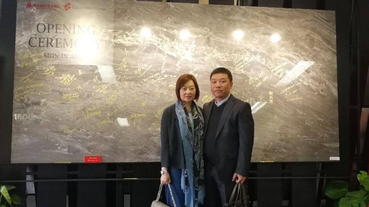 Stella Sun and husband, developer Alex Yuan. Photo: Contributed