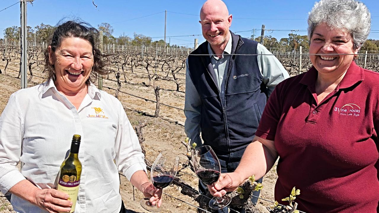 Ann Bourke, Peter O'Reilly and Debbie Bradburn are helping to bring tourism back to the region.