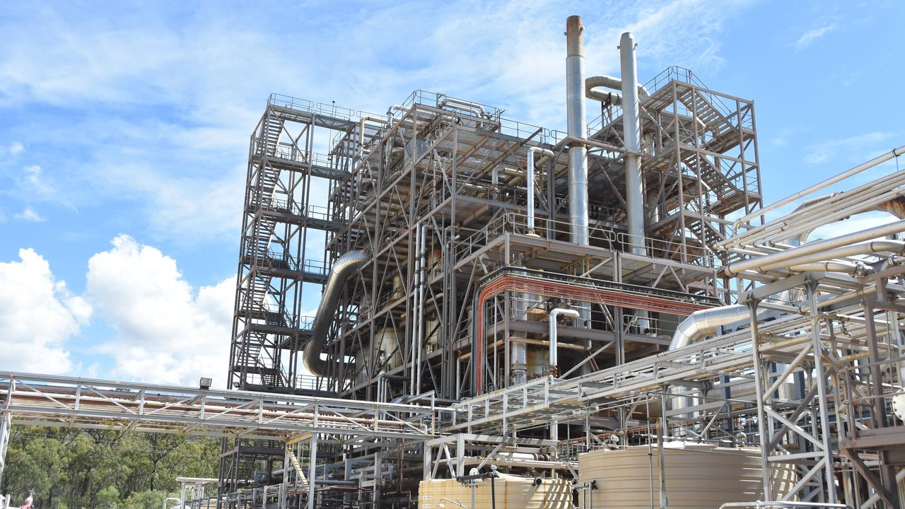 Southern Oil Refining's Northern Oil Refinery at Yarwun in the Gladstone region.