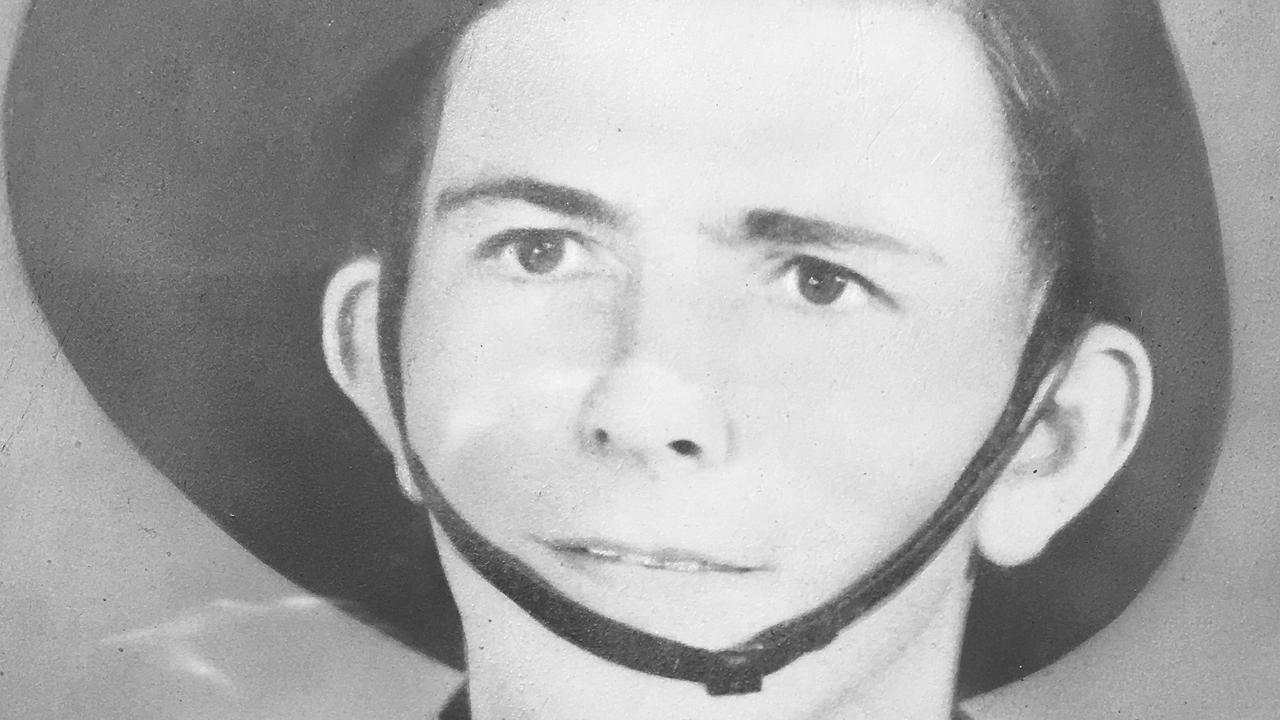 Jim McBride enlisted in November 1941 and served at New Guinnea during World War II.
