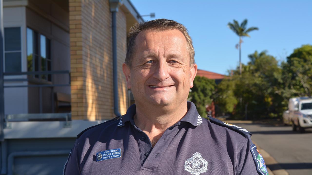 Gatton Police Station OIC, Senior Sergeant Rowland Browne.