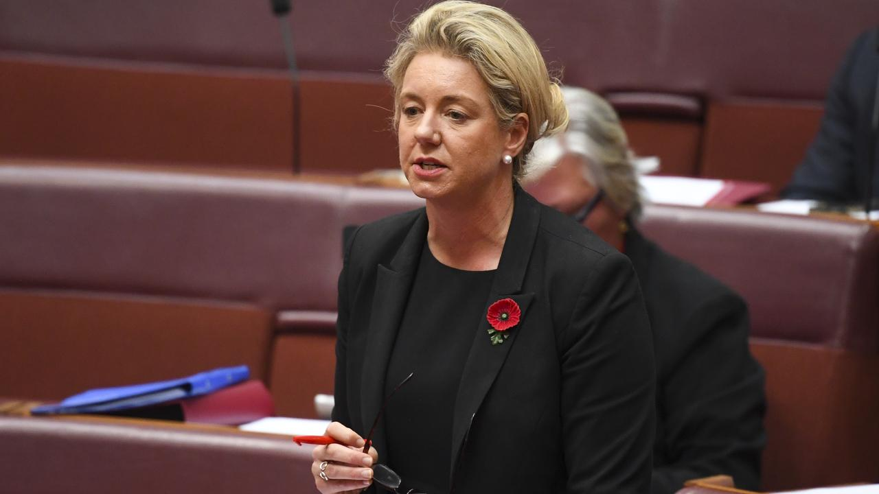 Agriculture Minister Bridget McKenzie says they are still consulting on the draft code of conduct. Picture: AAP Image/Lukas Coch