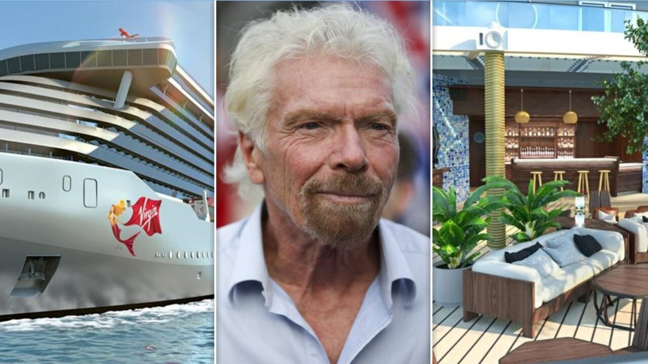 Sir Richard Branson is launching Virgin Voyages in Australia