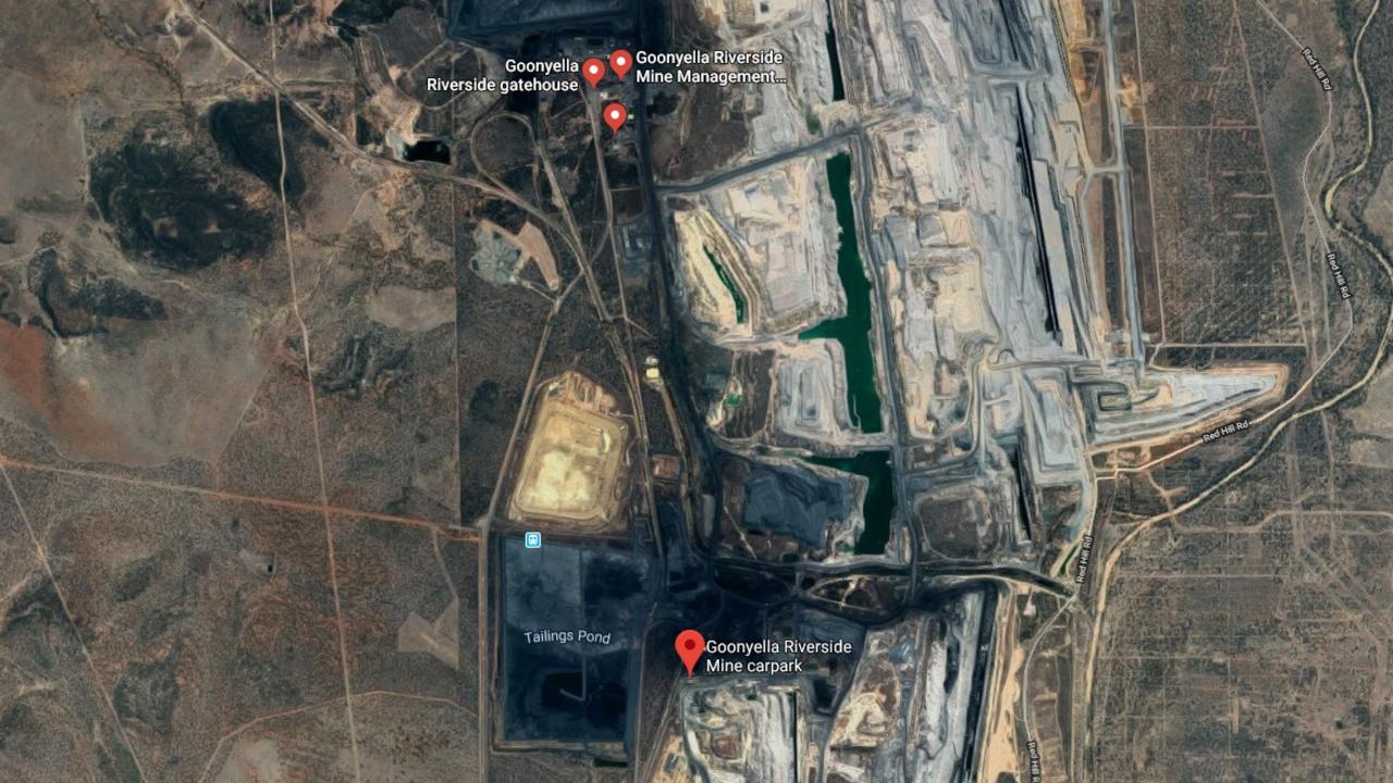 AUTOMATION: BMA Goonyella Riverside mine.