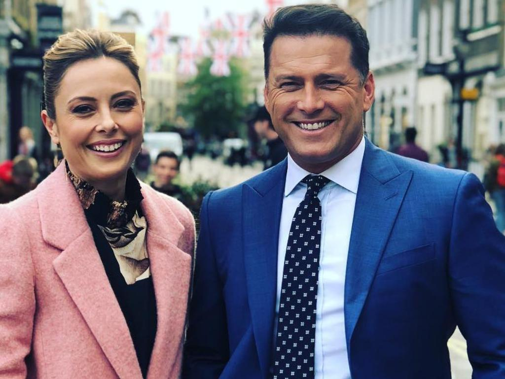"Mr Mark told shareholders Allison Langdon was the ""right partner"" for Stefanovic. Picture: Instagram"