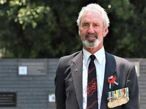 Remembering his fallen mates in war