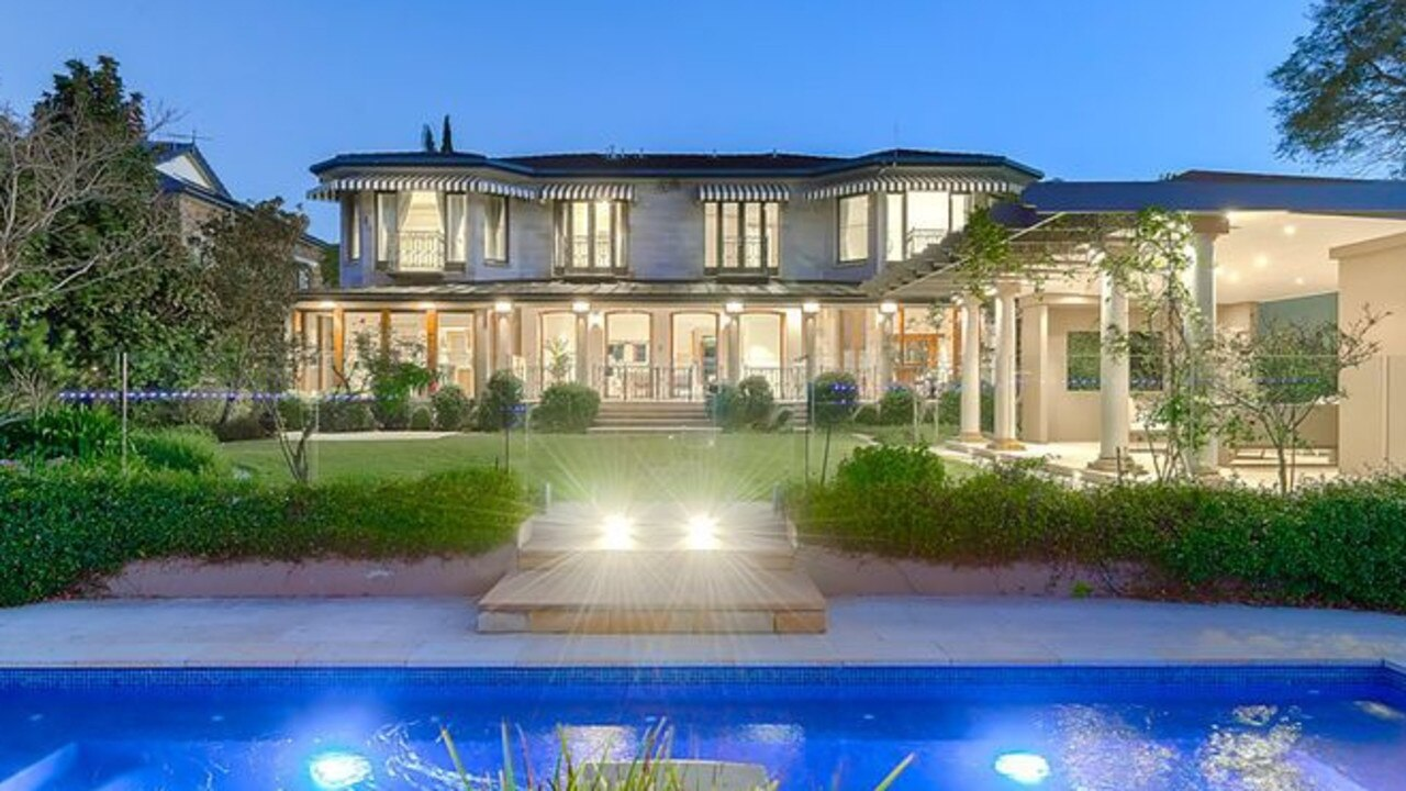 This Bulimba mansion recently sold for $8.4 million, equalling the Brisbane residential auction record.