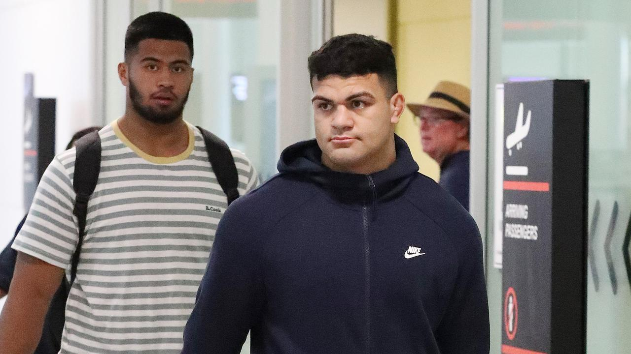 David Fifita arrived safely back home.