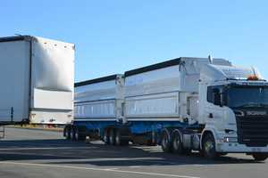 The Australian Trucking Association is warning drivers to be careful.
