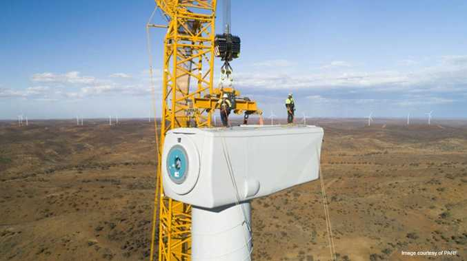 WHAT'S NEXT? $850m wind farm nears completion