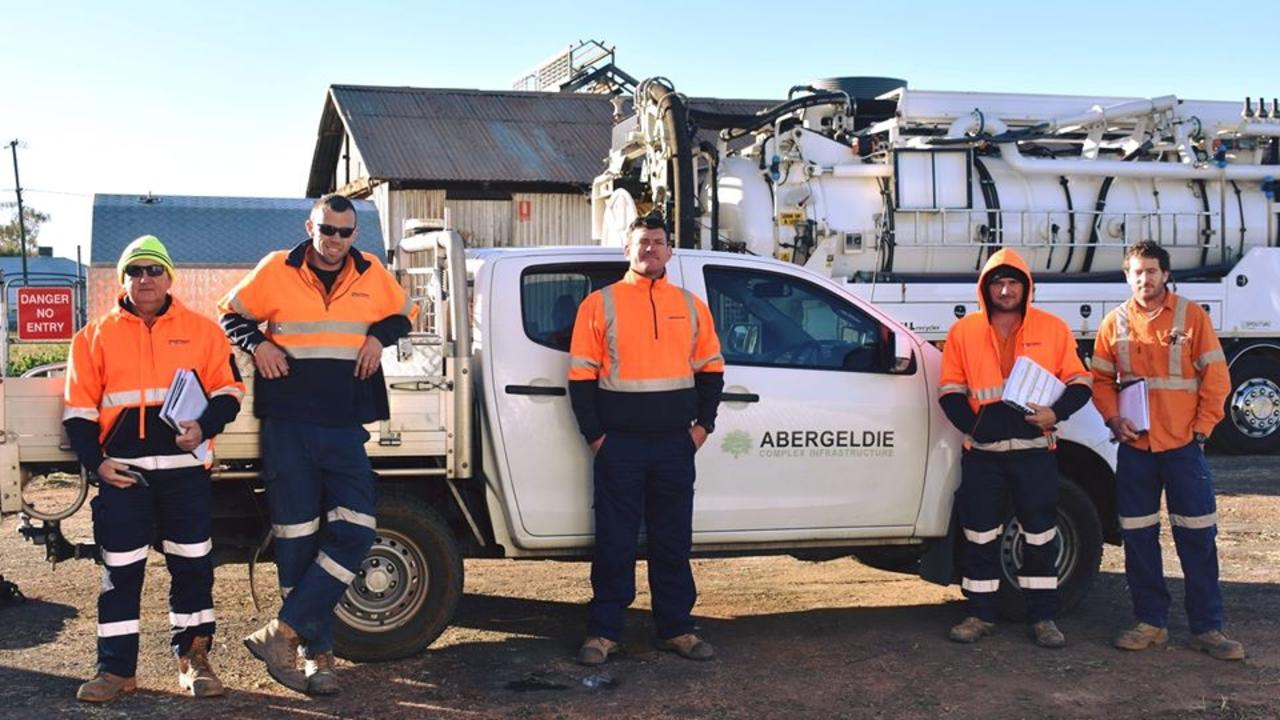 Abergeldie workers completing sewer repair in Cunnamulla have spent a massive $175,000 in the Paroo Shire in just over three months.