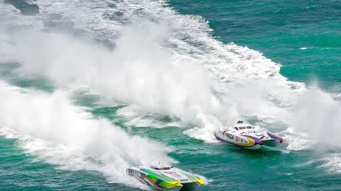 Superboats roar back to Hervey Bay waters