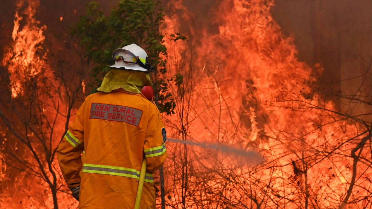 As the nation burns, there's a question we can no longer ignore – why are we refusing to take climate change more seriously? Picture: Peter Parks/AFP