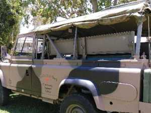 ADF Land Rover presented to Charleville veterans