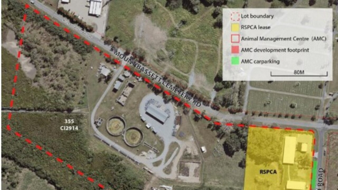 The site for the proposed redevelopment of Mackay Regional Council's animal management centre.