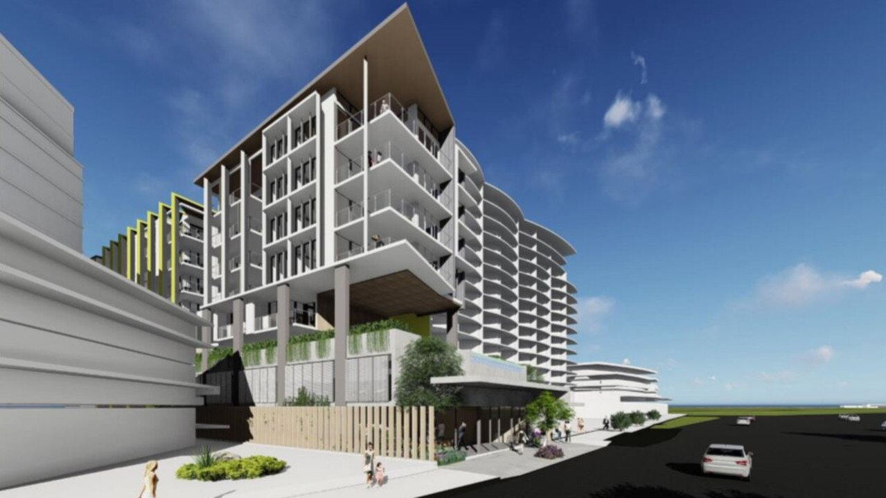 PLAN: The new project at 12 Aerodrome Road, Maroochydore. Photo: Contributed