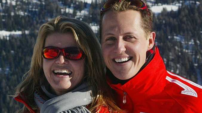 Schumacher wife accused of cover up