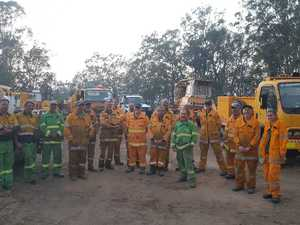LOCAL HEROES: 'It was like a wall of flame coming at you'