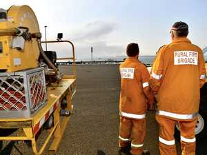 DARKEST TIME: Fireys watch over Fraser Coast in hour of need