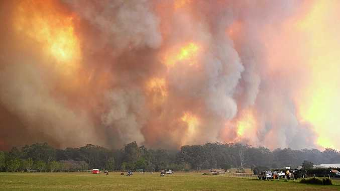 PICTURES: Photos show fury of fire at Nana Glen