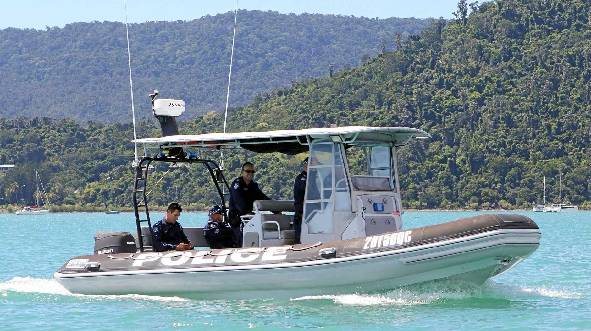 POLICE PRESENCE: Whitsunday Water Police regularly conduct breath tests on operators of vessels out on the water in the region.