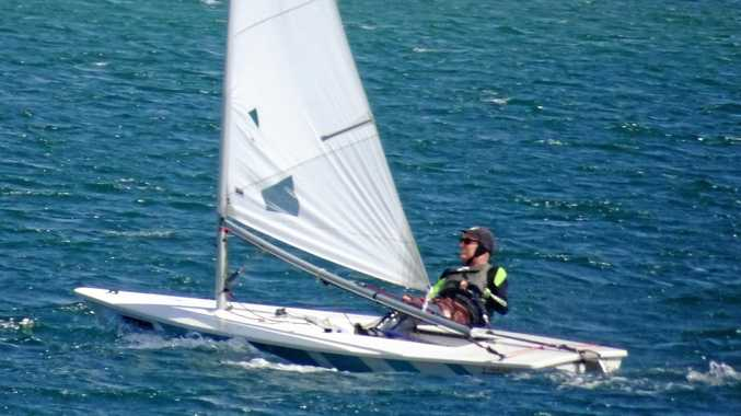 Lighter winds at last for sailors