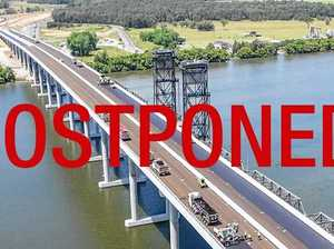 Harwood bridge walk postponed
