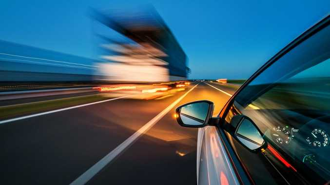 Why woman drove at 'frantic' speed on Burnett Highway