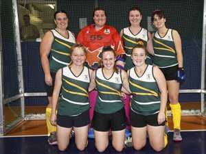 Hockey sisters take Ipswich to top two