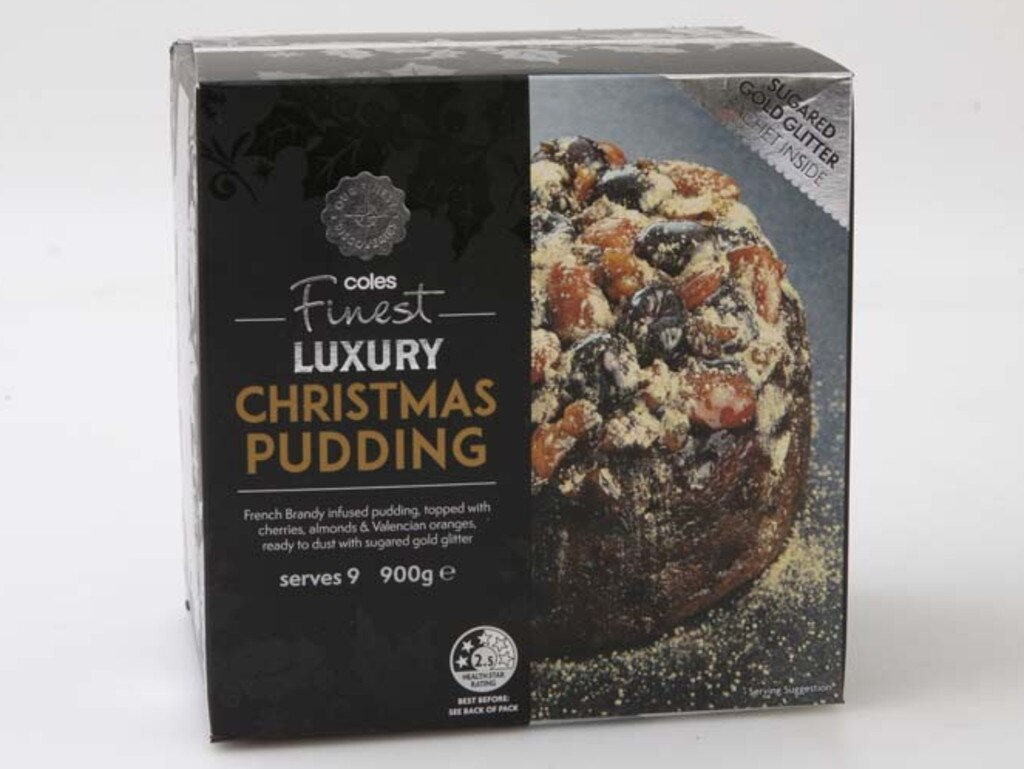 It knocked the Coles Finest Luxury Pudding from its top spot. Picture: Supplied