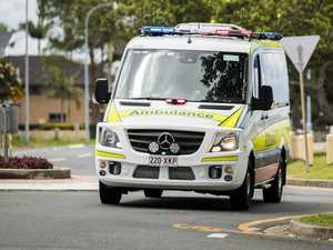 Man injured after car crashes into sign post