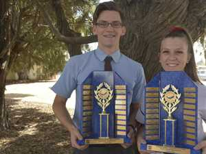 School honours its top athletes Harristown honours its athletes