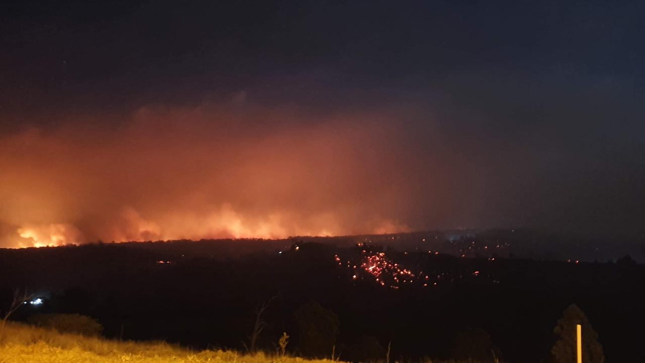 Emily Hodgert took this picture from Charlotte Drive, Hampton, about 8pm last night.