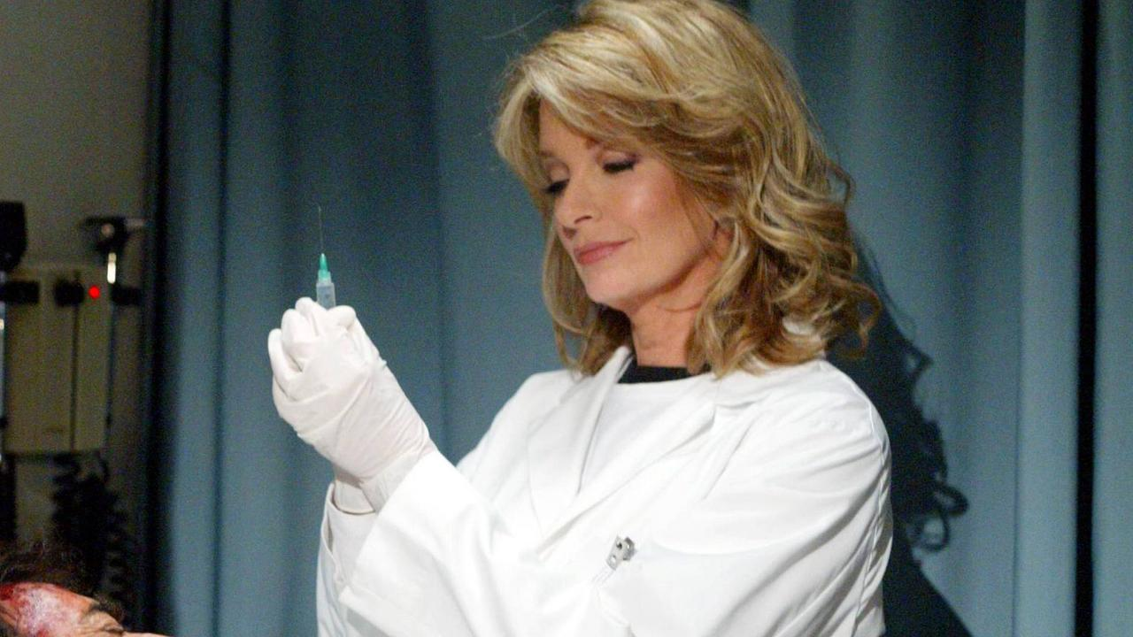 Dr Marlena Evans has been played by Deidre Hall for more than 40 years. Picture: NBC Studios