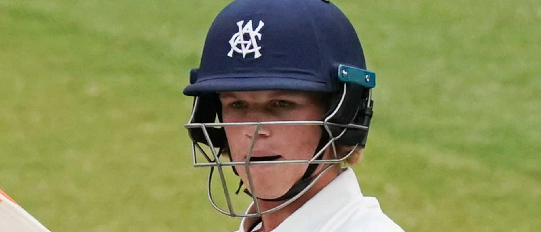 Jake Fraser-McGurk impressed at the crease.