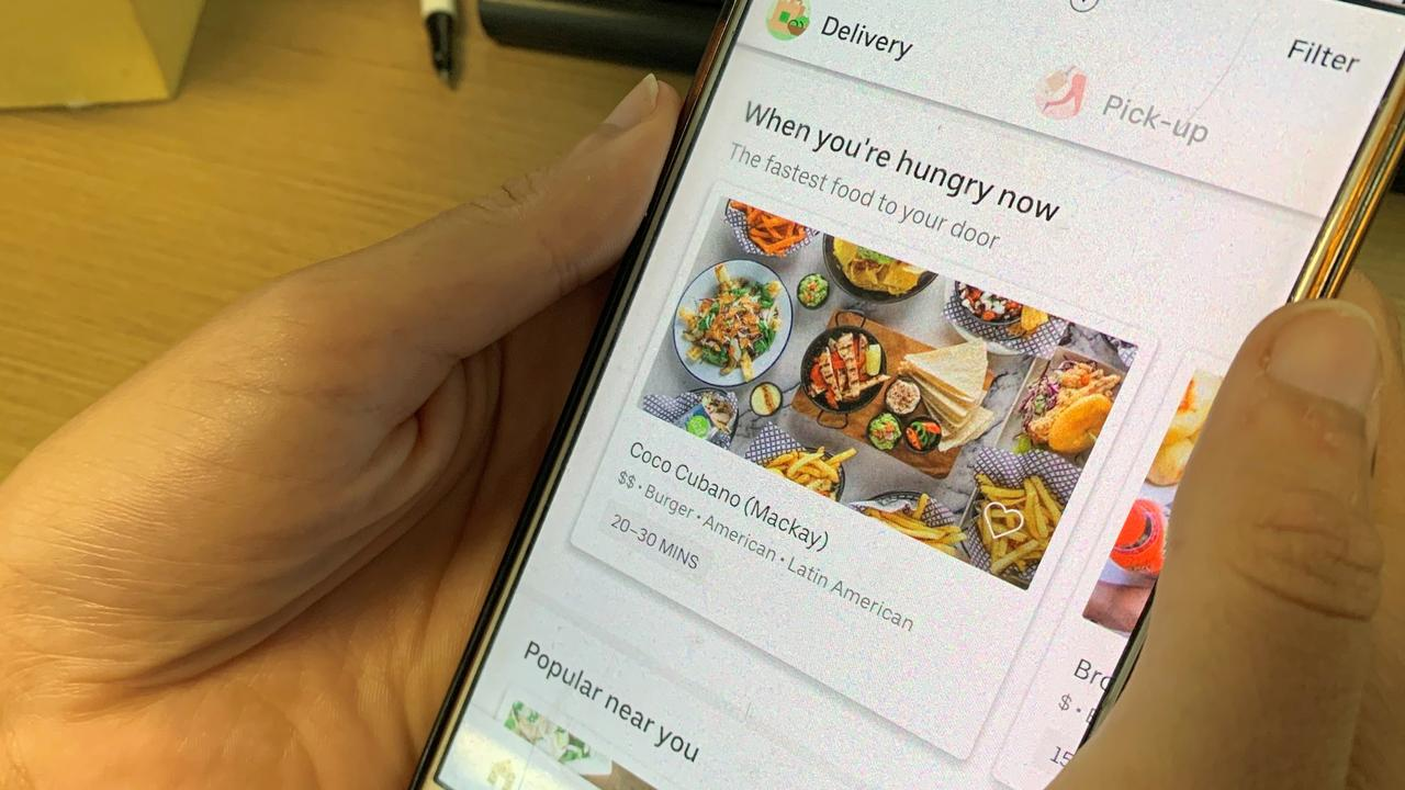 You can now order from Uber Eats in Mackay.